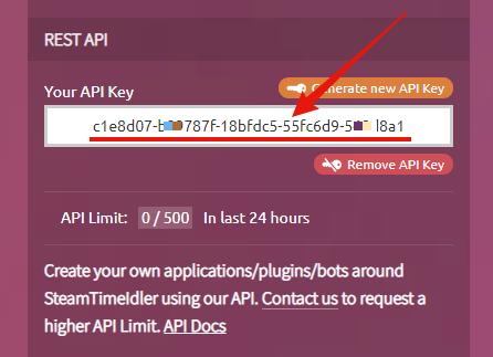 Bot API | SteamTimeIdler